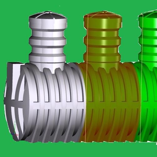 Ёмкость для канализации герметичная «Чистовод» накопительная из стеклопластика, Минск, собственное производство РБ