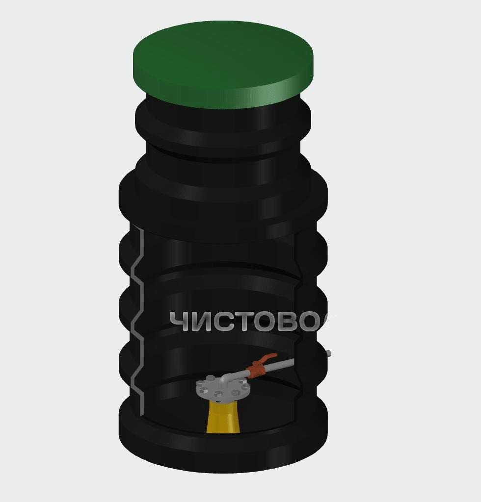 Кессон для скважины Чистовод-950