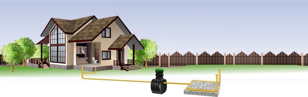 Автономная канализация «Чистовод» для дома 100-200 кв.м