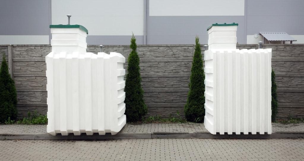 Пластиковые погреба для частного дома производства Белтехагропласт Чистовод в Минске размерами 2,0х2,0 и 1,5х1,5 метра
