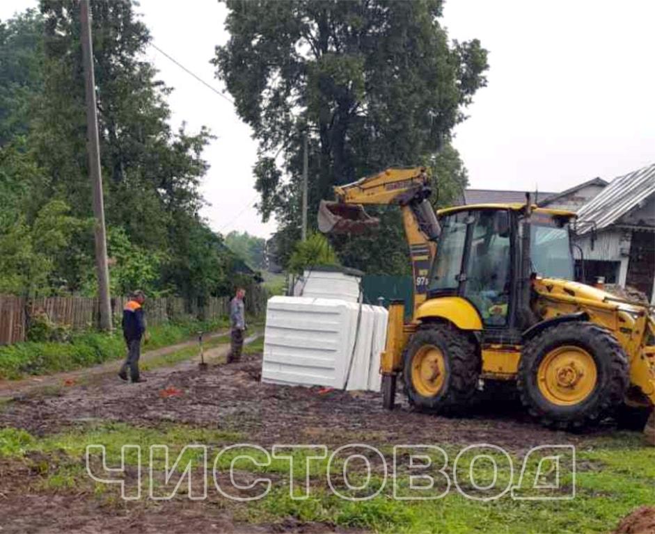 Монтаж пластикового погреба Чистовод фото 2