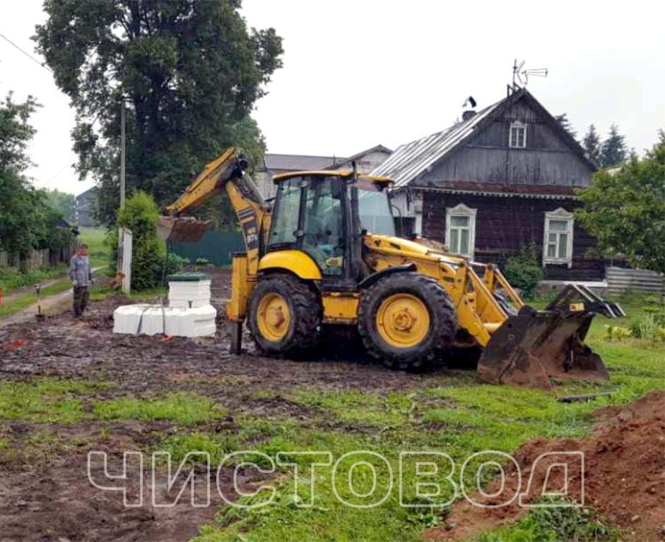 Монтаж пластикового погреба Чистовод фото 3