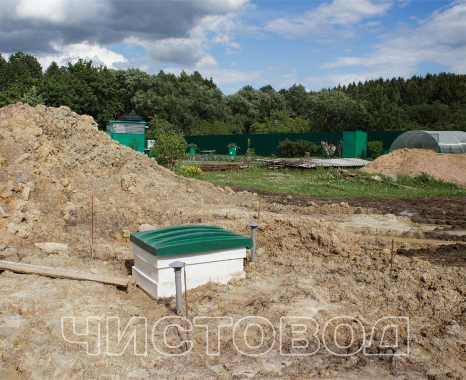Монтаж пластикового погреба Чистовод фото 6