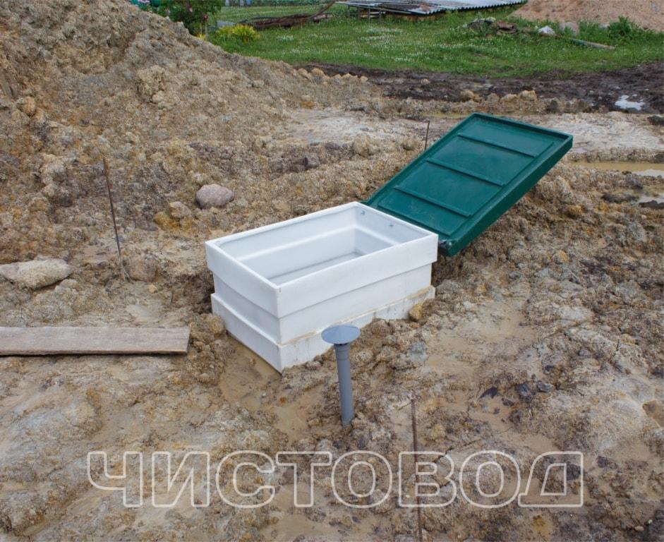 Монтаж пластикового погреба Чистовод фото 7