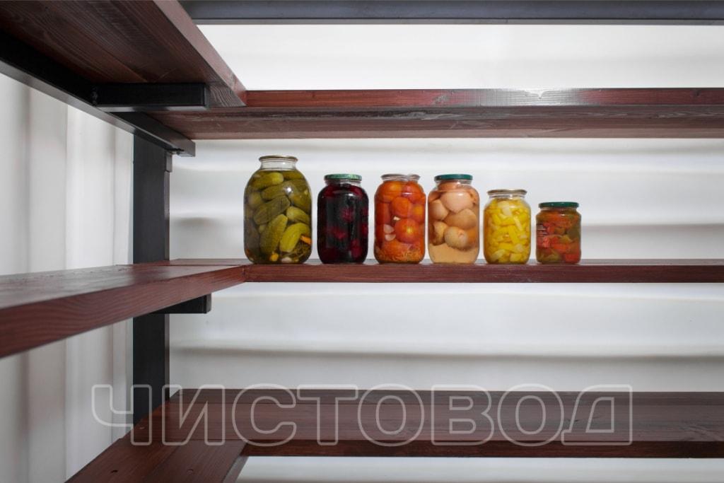 Пластиковый погреб Чистовод изнутри фото 4