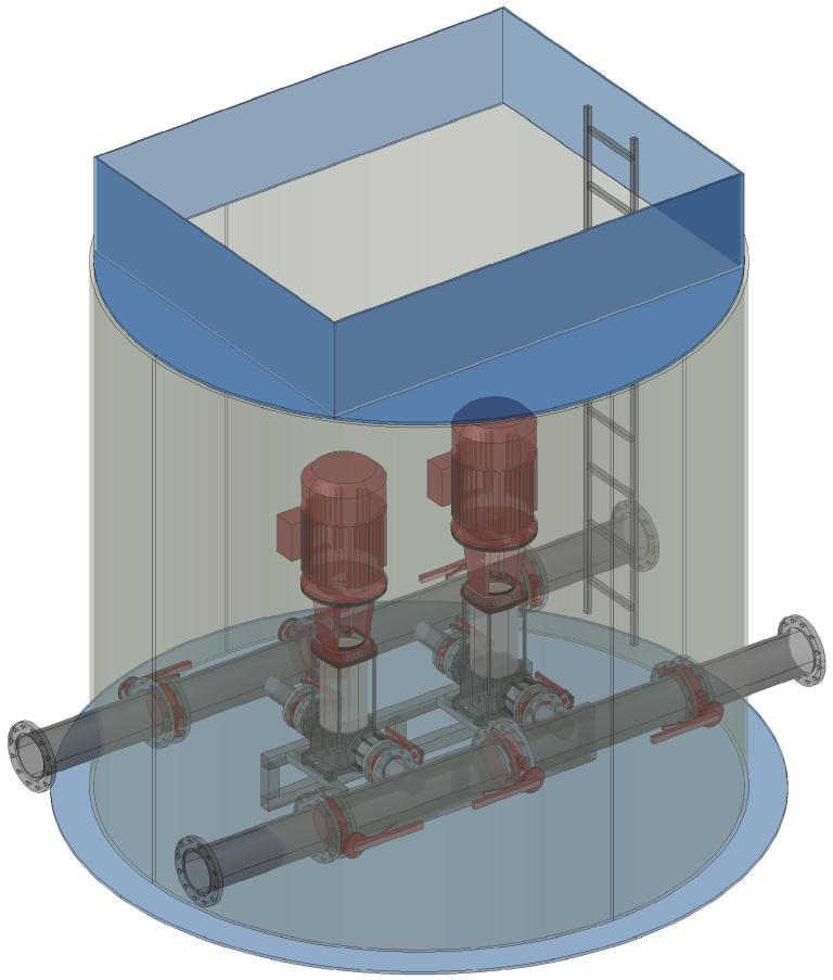 Пожарные насосные станции для спринклерных и дренчерных систем водяного пожаротушения Чистовод