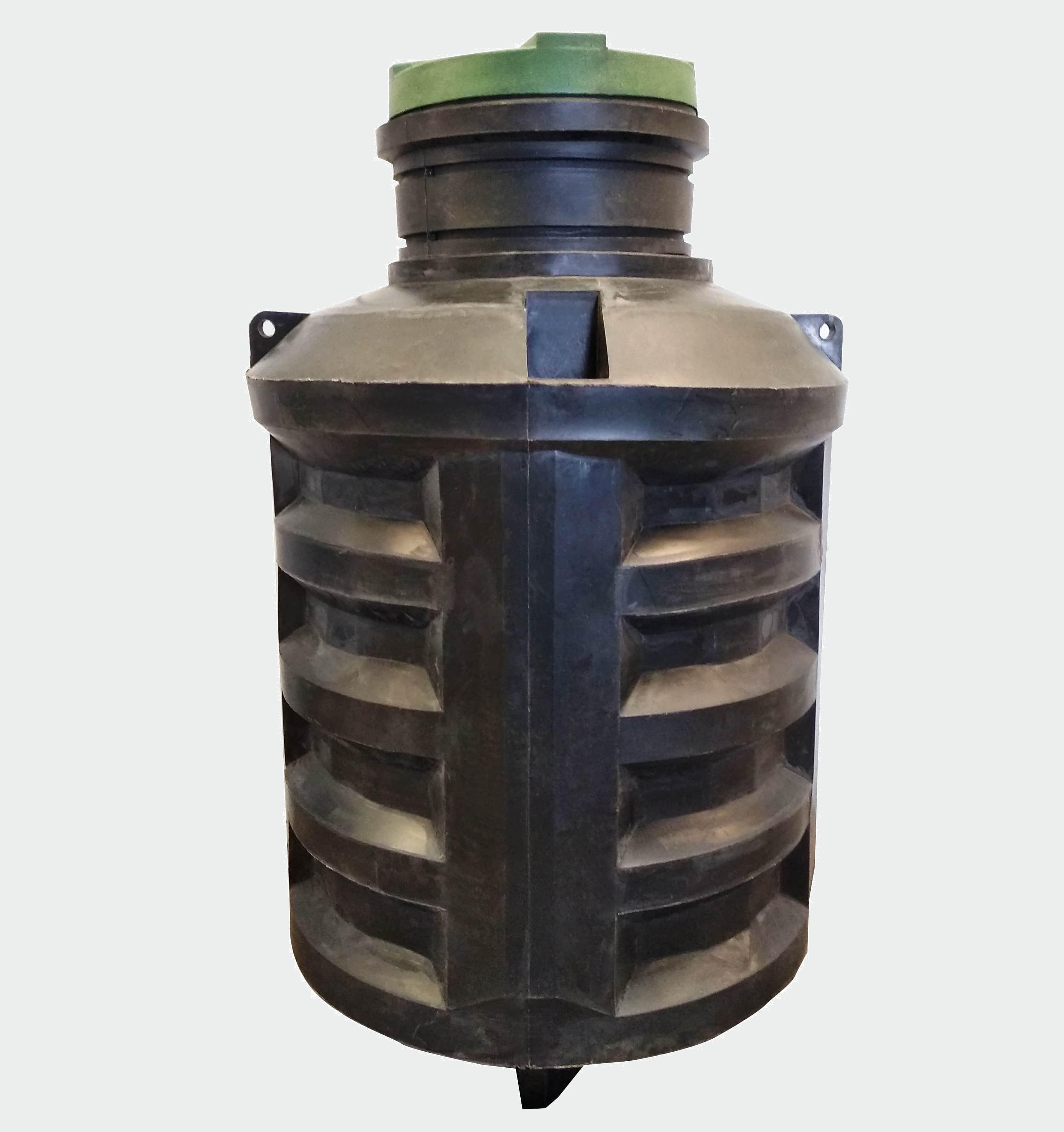 Вставка в действующие бетонные кольца пластиковый септик Чистовод-5В