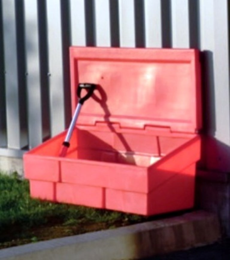 Ящик для песка пожарный 500 литров - контейнер. Чистовод, Минск