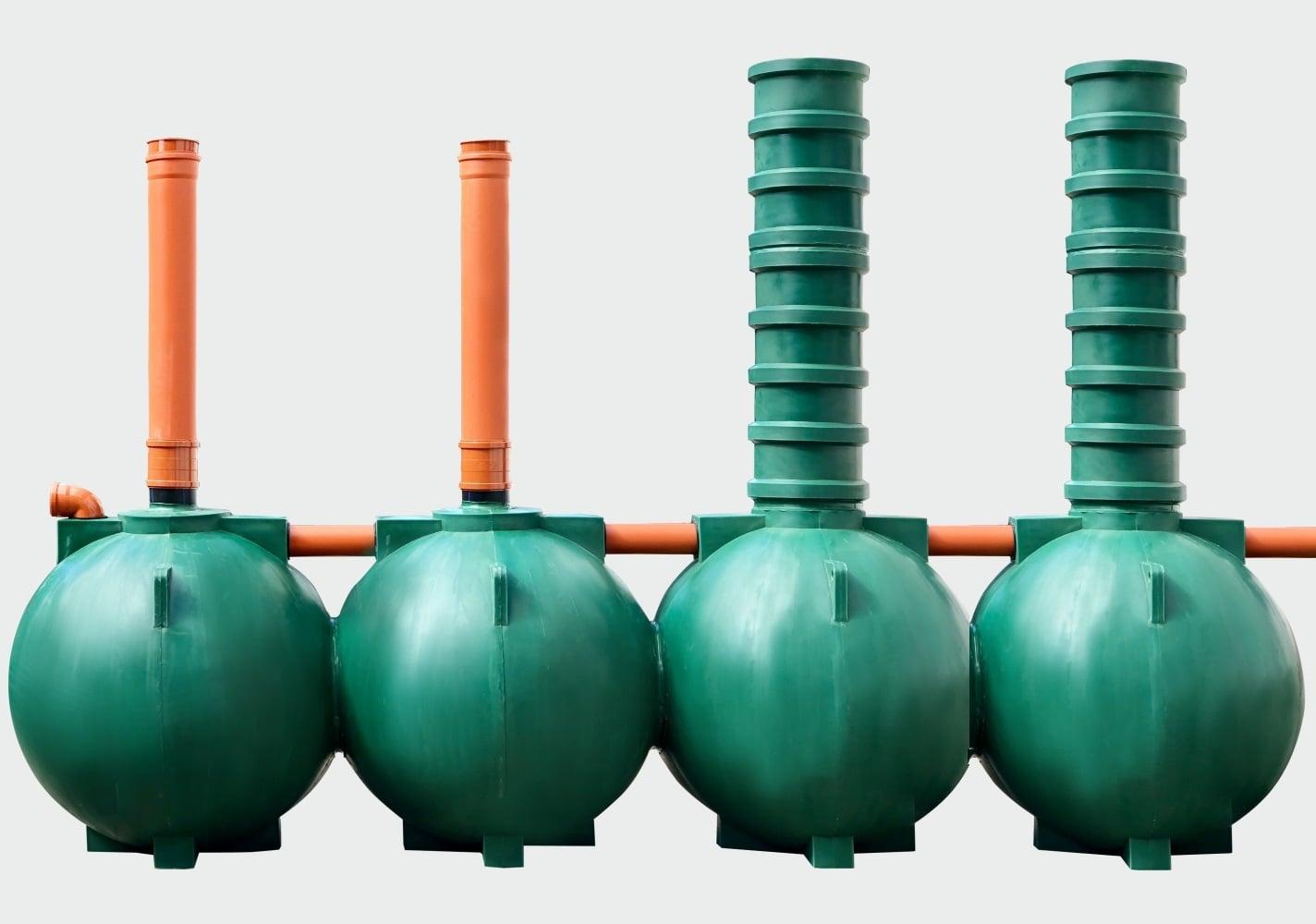 Септик Чистовод-10-шар для очистки канализационных сточных вод коттеджа или частного дома