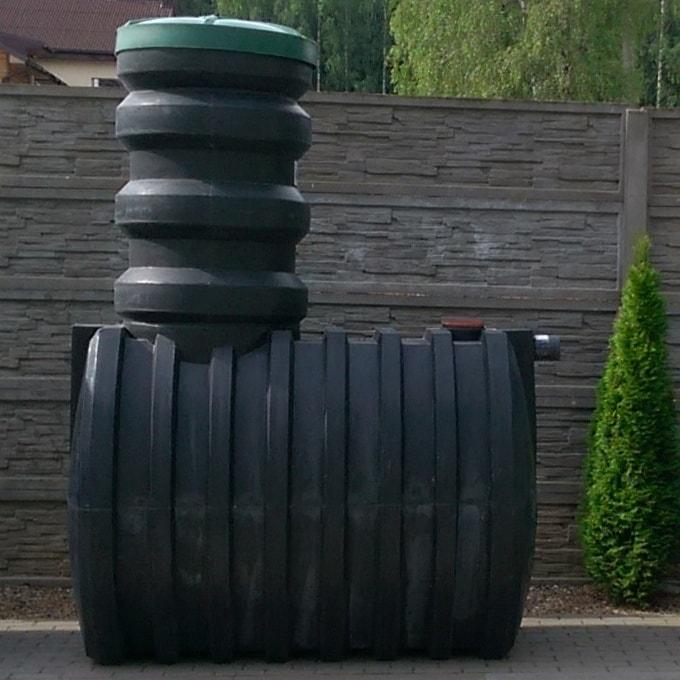 Очистное сооружение автономной канализации для частного загородного дома на глинистом грунте «Чистовод Аэро» из пластика, Минск, собственное производство РБ