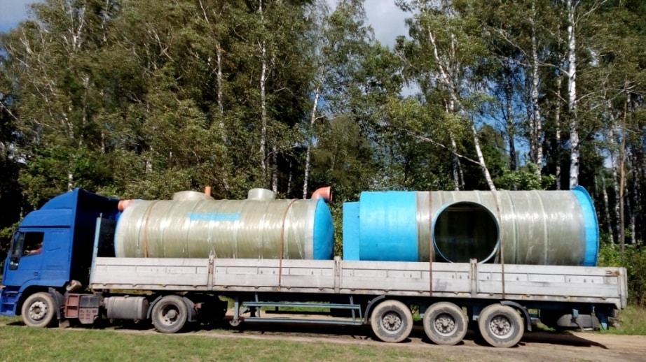 Бензомаслоотделитель ливневой канализации «Чистовод» отделение бензина, нефти, масла