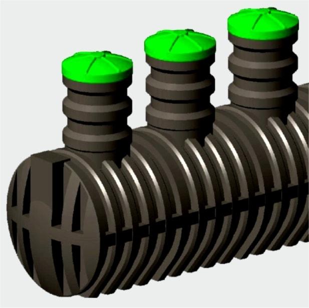 Ёмкость для канализации герметичная «Чистовод» накопительная из пластика, Минск, собственное производство РБ
