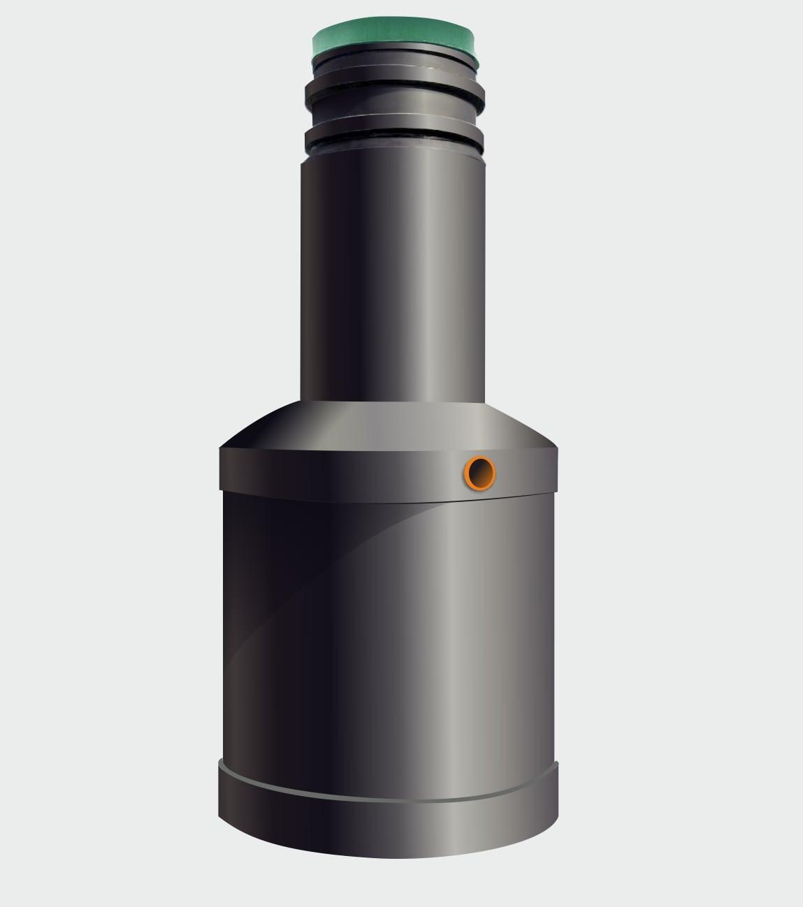 Вставка ЛОС в септик из бетонных колец Чистовод-Аэро 4В