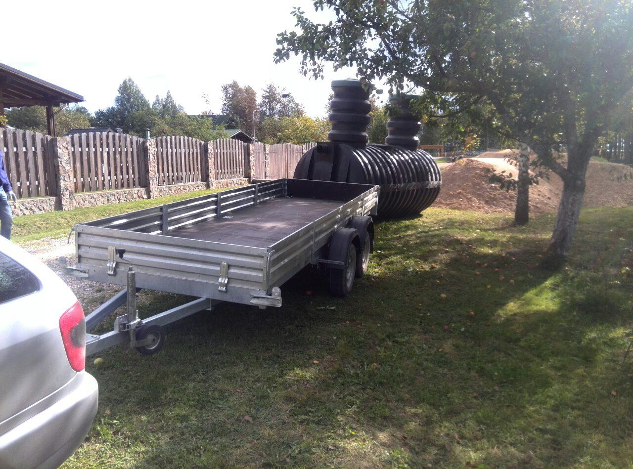 Накопительные ёмкости для канализации «Чистовод». Установка и монтаж по Беларуси заводом-производителем