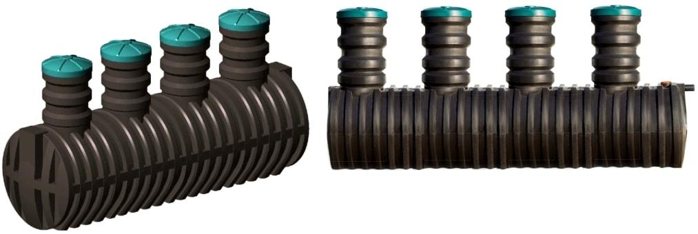 Накопительные емкости для канализации из пластика – очистные сооружения