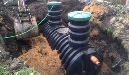 Портфолио некоторых установленных септиков и очистных систем автономной канализации в загородных частных домах