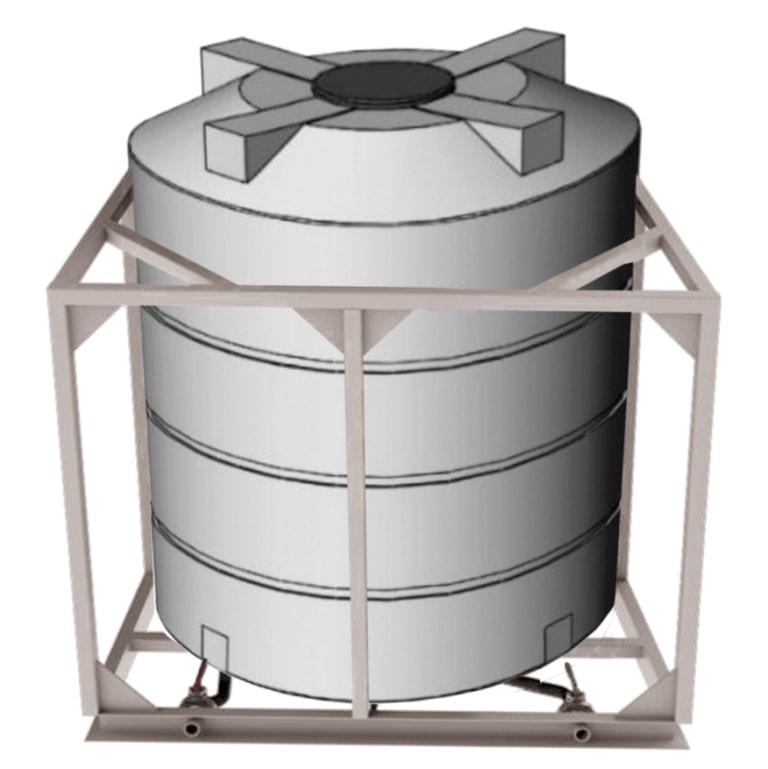 Ёмкости для воды с подогревом доступны объемом 3000 и 5000 литров. Оборудованы ТЭНом