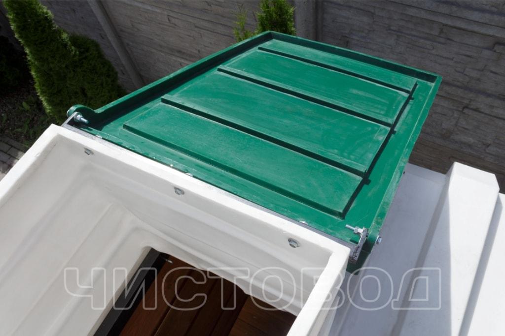 Пластиковый погреб Чистовод изнутри фото 1