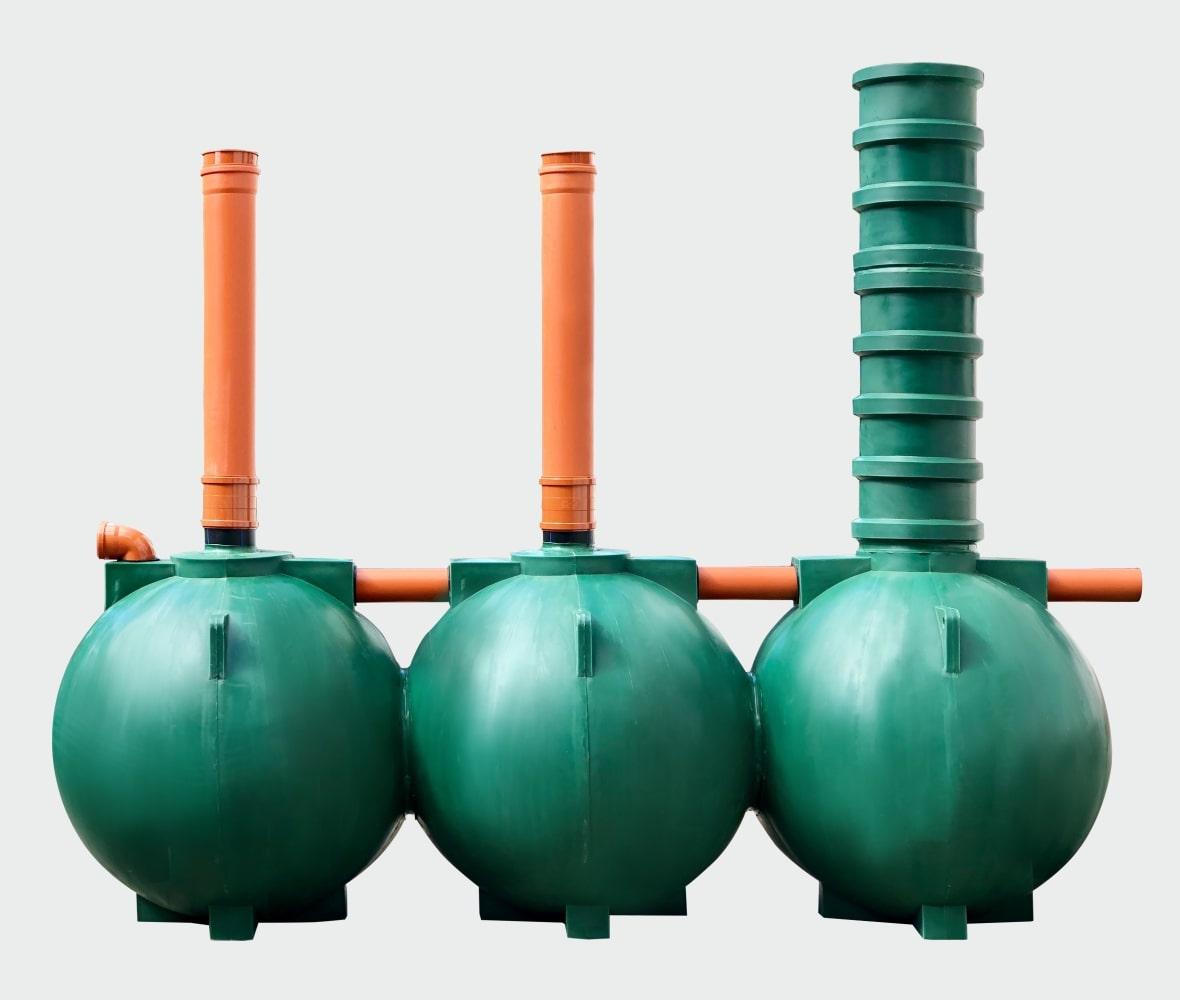 Септик Чистовод-8-шар для очистки канализационных сточных вод коттеджа или частного дома