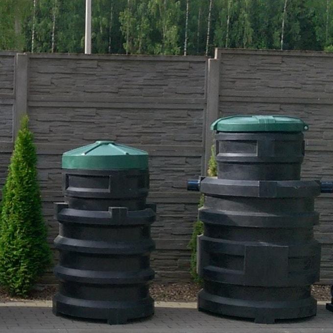 Септик для дачи «Чистовод» из пластика, Минск, собственное производство РБ