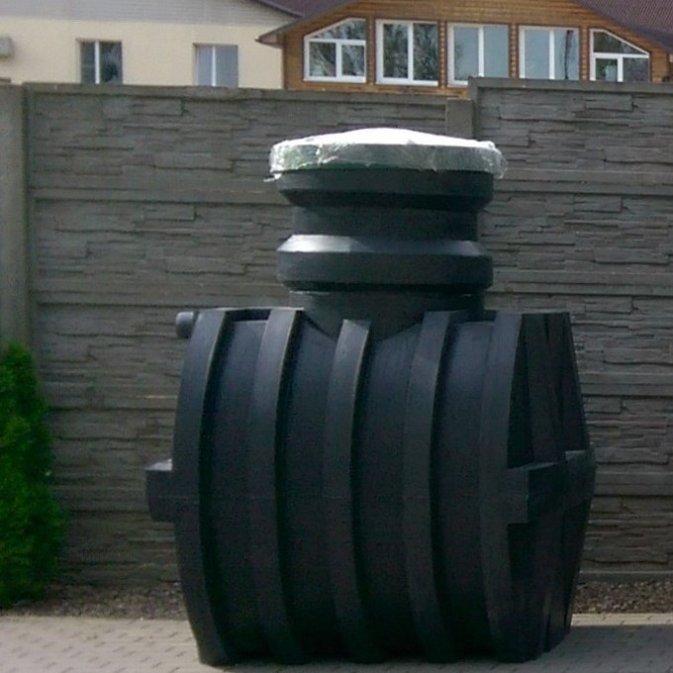 Септик для частного загородного дома на песчаном грунте «Чистовод» из пластика, Минск, собственное производство РБ
